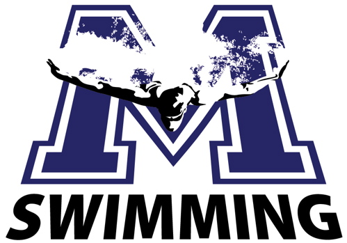 Montclair High School Swim Team Oliner Graphics